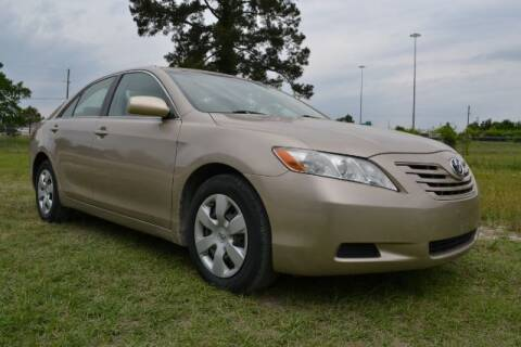 2007 Toyota Camry for sale at WOODLAKE MOTORS in Conroe TX