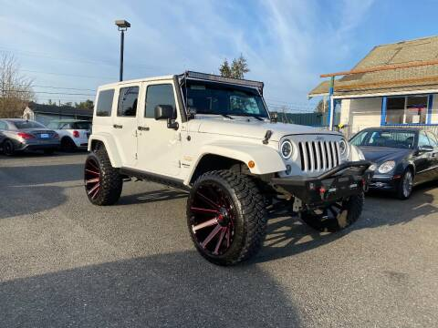 2014 Jeep Wrangler Unlimited for sale at LKL Motors in Puyallup WA