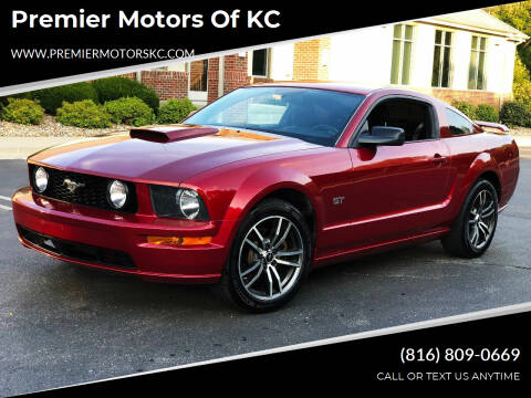 2008 Ford Mustang for sale at Premier Motors of KC in Kansas City MO