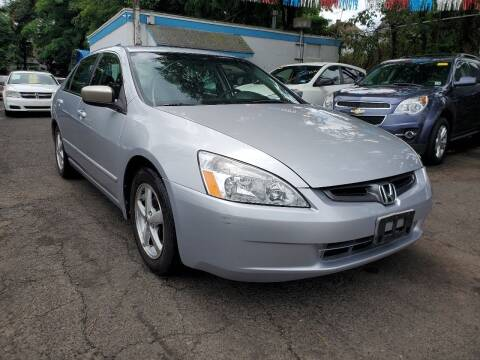 2003 Honda Accord for sale at New Plainfield Auto Sales in Plainfield NJ