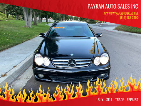 2007 Mercedes-Benz CLK for sale at Paykan Auto Sales Inc in San Diego CA