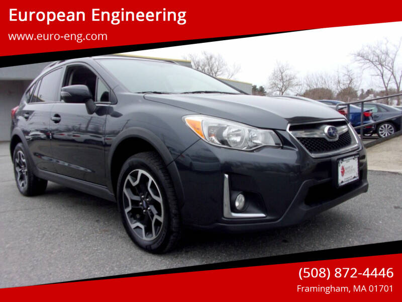 2017 Subaru Crosstrek for sale at European Engineering in Framingham MA