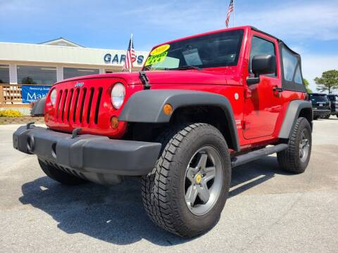 2010 Jeep Wrangler for sale at Gary's Auto Sales in Sneads NC