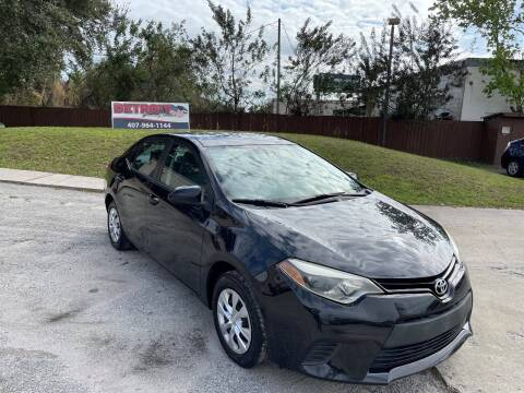 2015 Toyota Corolla for sale at Detroit Cars and Trucks in Orlando FL