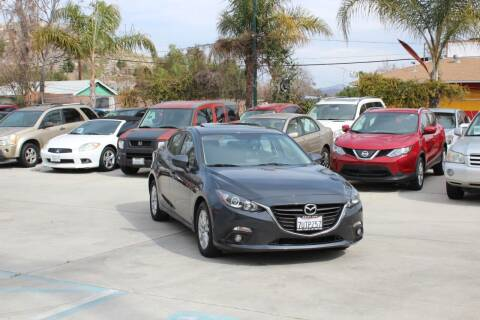 2016 Mazda MAZDA3 for sale at Car 1234 inc in El Cajon CA