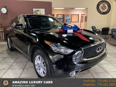 2017 Infiniti QX70 for sale at Amazing Luxury Cars in Snellville GA
