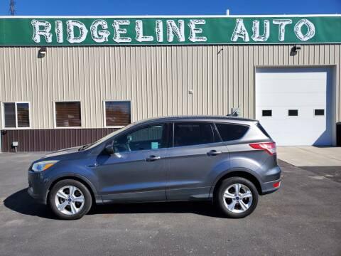 2014 Ford Escape for sale at RIDGELINE AUTO in Chubbuck ID