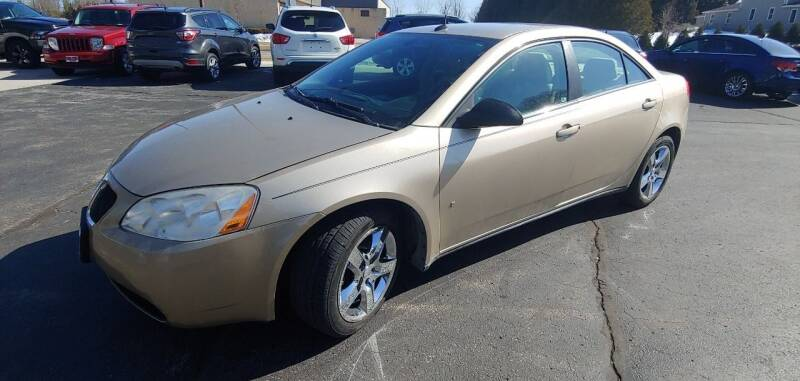 2008 Pontiac G6 for sale at PEKARSKE AUTOMOTIVE INC in Two Rivers WI