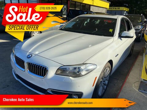 2014 BMW 5 Series for sale at Cherokee Auto Sales in Acworth GA