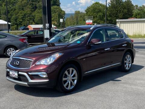 2017 Infiniti QX50 for sale at Alexandria Auto Mart LLC in Alexandria PA