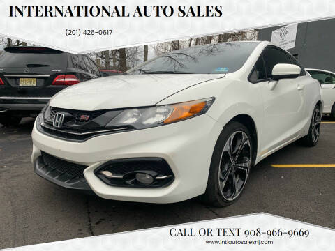 2015 Honda Civic for sale at International Auto Sales in Hasbrouck Heights NJ