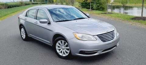 2013 Chrysler 200 for sale at BOOST MOTORS LLC in Sterling VA