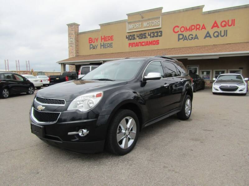 2015 Chevrolet Equinox for sale at Import Motors in Bethany OK
