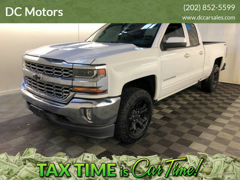 2016 Chevrolet Silverado 1500 for sale at DC Motors in Springfield VA