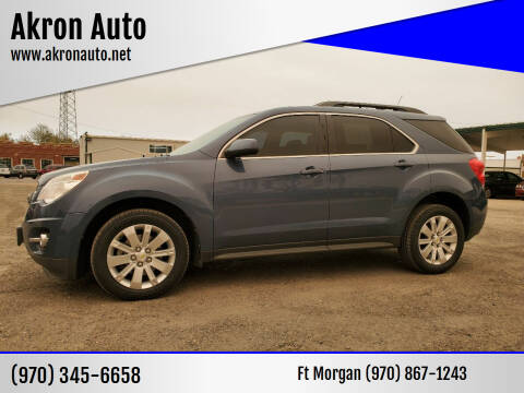 2011 Chevrolet Equinox for sale at Akron Auto in Akron CO