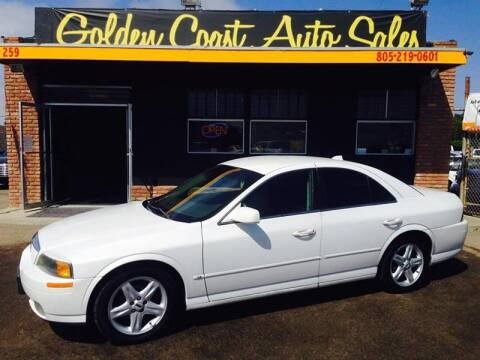 2001 Lincoln LS for sale at Golden Coast Auto Sales in Guadalupe CA