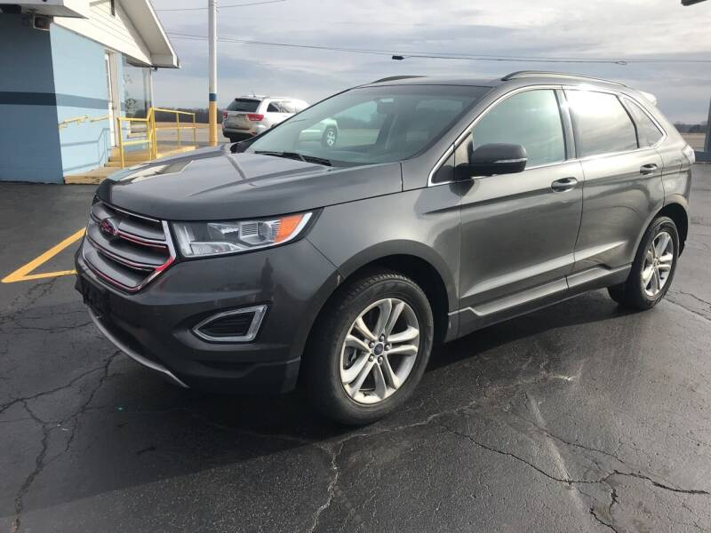 2016 Ford Edge for sale at Huggins Auto Sales in Hartford City IN