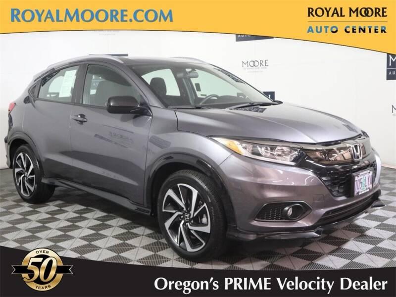 2019 Honda HR-V for sale at Royal Moore Custom Finance in Hillsboro OR