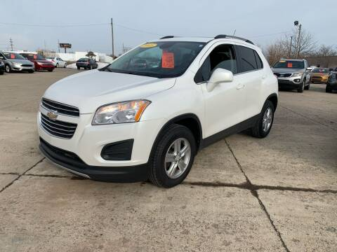 2015 Chevrolet Trax for sale at Cars To Go in Lafayette IN