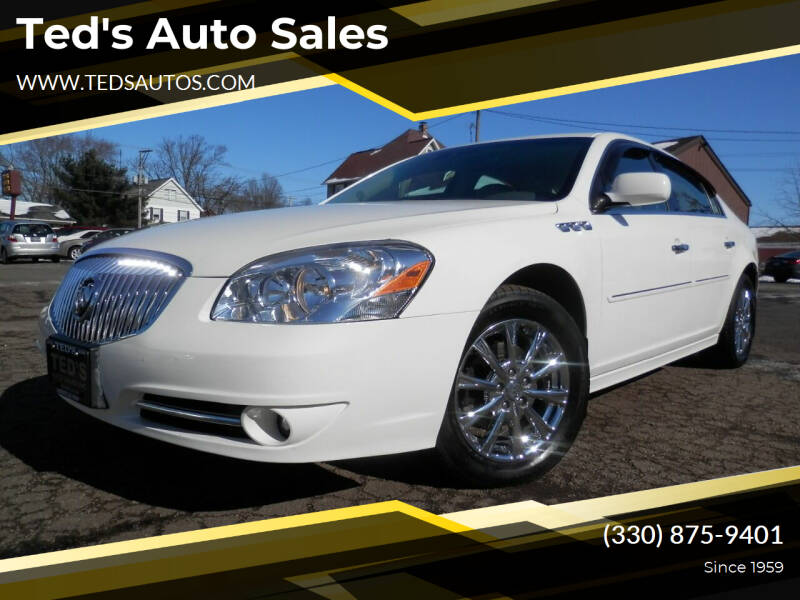 2011 Buick Lucerne for sale at Ted's Auto Sales in Louisville OH
