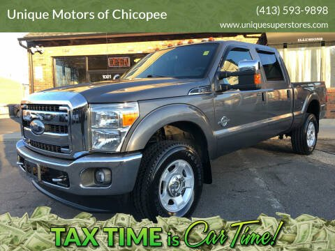 2011 Ford F-350 Super Duty for sale at Unique Motors of Chicopee in Chicopee MA