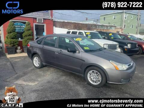 2010 Ford Focus for sale at CJ Motors Inc. in Beverly MA