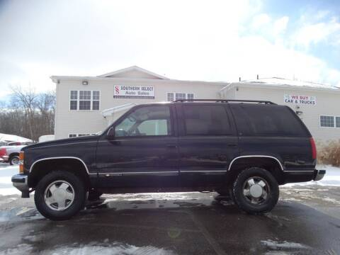 1997 Chevrolet Tahoe for sale at SOUTHERN SELECT AUTO SALES in Medina OH