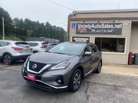2019 Nissan Murano for sale at Variety Auto Sales in Worcester MA