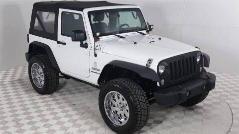 2014 Jeep Wrangler for sale at Excellence Auto Direct in Euless TX