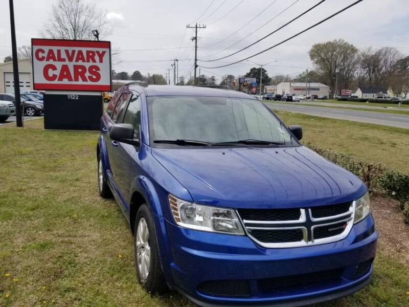 2015 Dodge Journey for sale at Calvary Cars & Service Inc. in Norfolk VA
