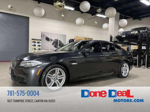 2013 BMW 5 Series for sale at DONE DEAL MOTORS in Canton MA