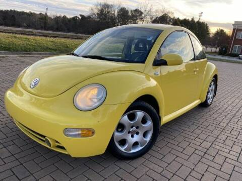 2002 Volkswagen New Beetle for sale at JES Auto Sales LLC in Fairburn GA