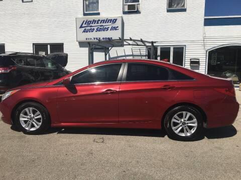 2014 Hyundai Sonata for sale at Lightning Auto Sales in Springfield IL