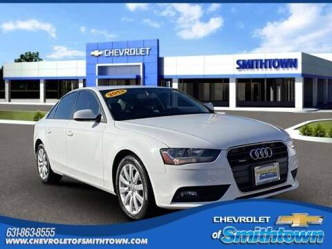 2013 Audi A4 for sale at CHEVROLET OF SMITHTOWN in Saint James NY