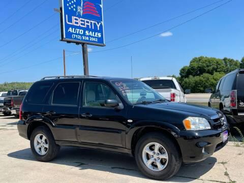 2005 Mazda Tribute for sale at Liberty Auto Sales in Merrill IA