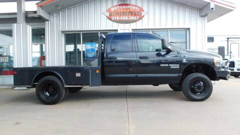 2006 Dodge Ram Pickup 3500 for sale at Motorsports Unlimited in McAlester OK