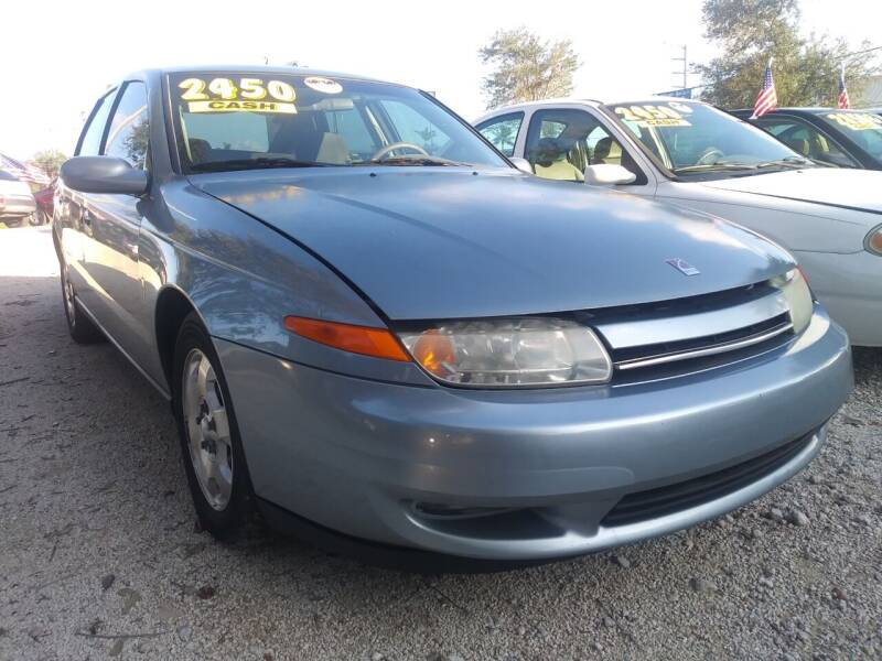 2002 Saturn L-Series for sale at AFFORDABLE AUTO SALES OF STUART in Stuart FL