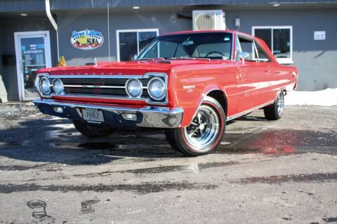 1967 Plymouth GTX for sale at Great Lakes Classic Cars & Detail Shop in Hilton NY