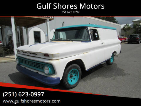 1963 Chevrolet Panel Truck for sale at Gulf Shores Motors in Gulf Shores AL