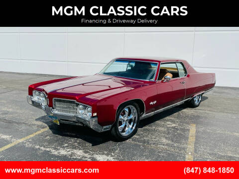1969 Oldsmobile Ninety-Eight for sale at MGM CLASSIC CARS in Addison IL