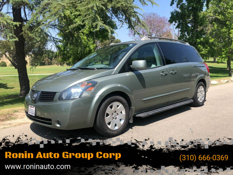 2006 Nissan Quest for sale in Sun Valley, CA