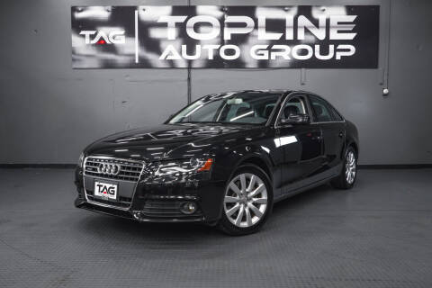2011 Audi A4 for sale at TOPLINE AUTO GROUP in Kent WA
