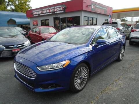 2015 Ford Fusion for sale at International Motors in Laurel MD