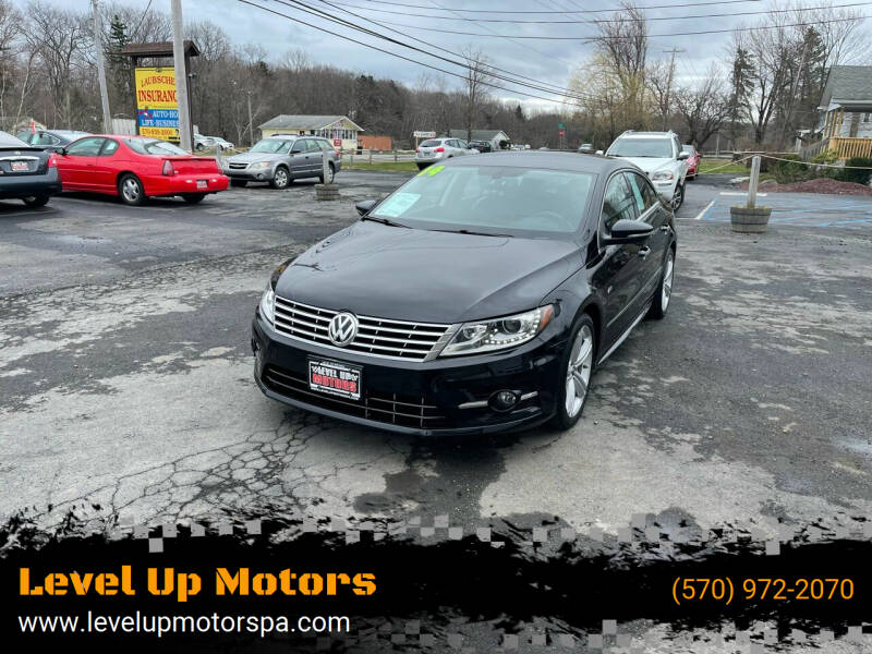 2014 Volkswagen CC for sale at Level Up Motors in Tobyhanna PA