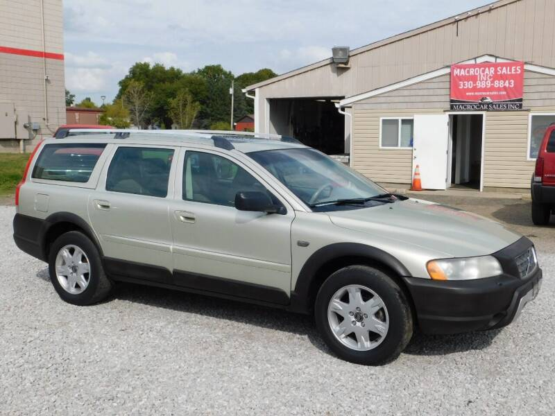 2006 Volvo XC70 for sale at Macrocar Sales Inc in Akron OH