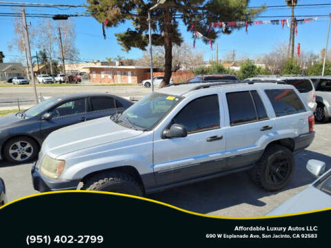 2004 Jeep Grand Cherokee for sale at Affordable Luxury Autos LLC in San Jacinto CA