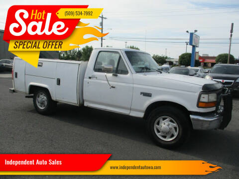 1995 Ford F-250 for sale at Independent Auto Sales in Spokane Valley WA