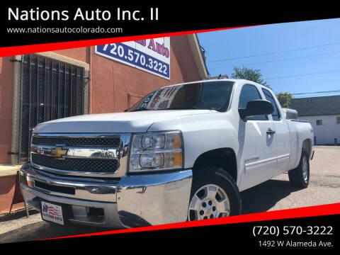 2013 Chevrolet Silverado 1500 for sale at Nations Auto Inc. II in Denver CO
