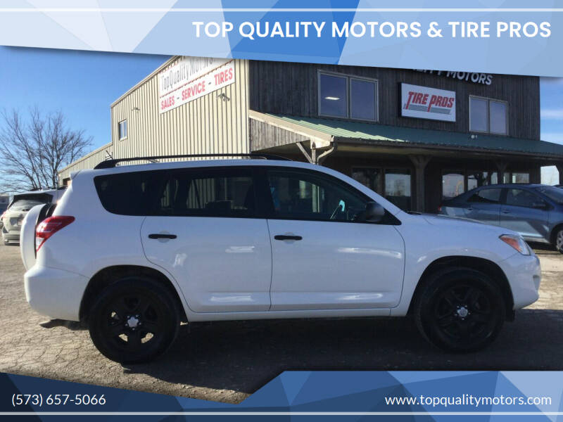 2011 Toyota RAV4 for sale at Top Quality Motors & Tire Pros in Ashland MO