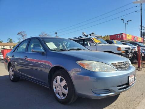 2002 Toyota Camry for sale at CARCO SALES & FINANCE #3 in Chula Vista CA